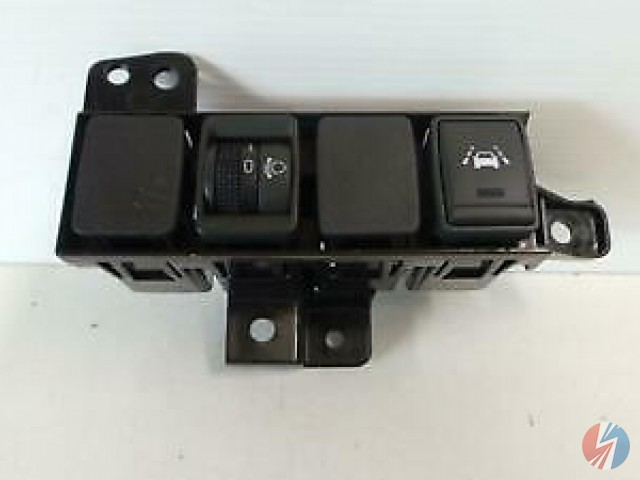 Headlight Switch Dashboard Mounted - NISSAN QASHQAI Mk II  (J11, J11_)