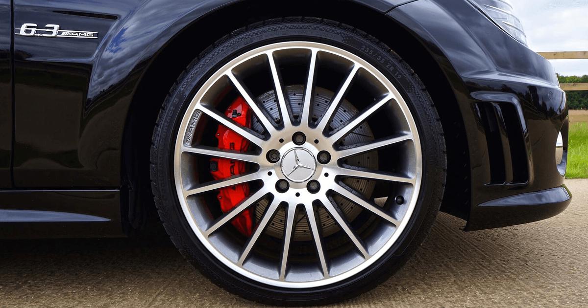 Alloy wheel - AMG - Mercedes Benz