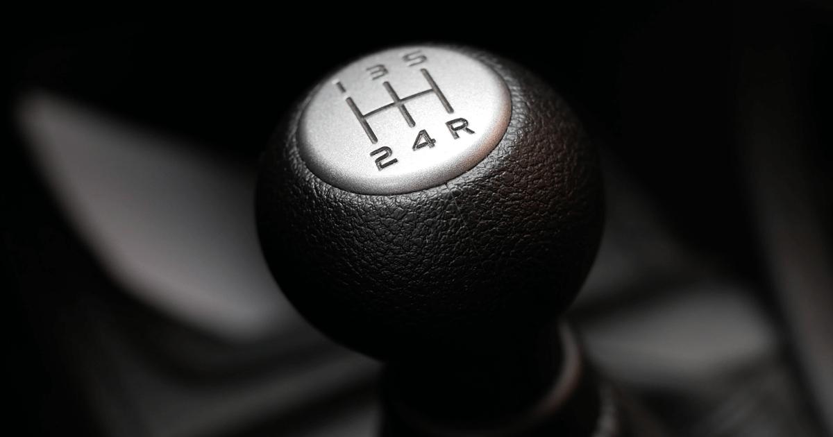 Gear lever. Manual Transmission. Car clutch.