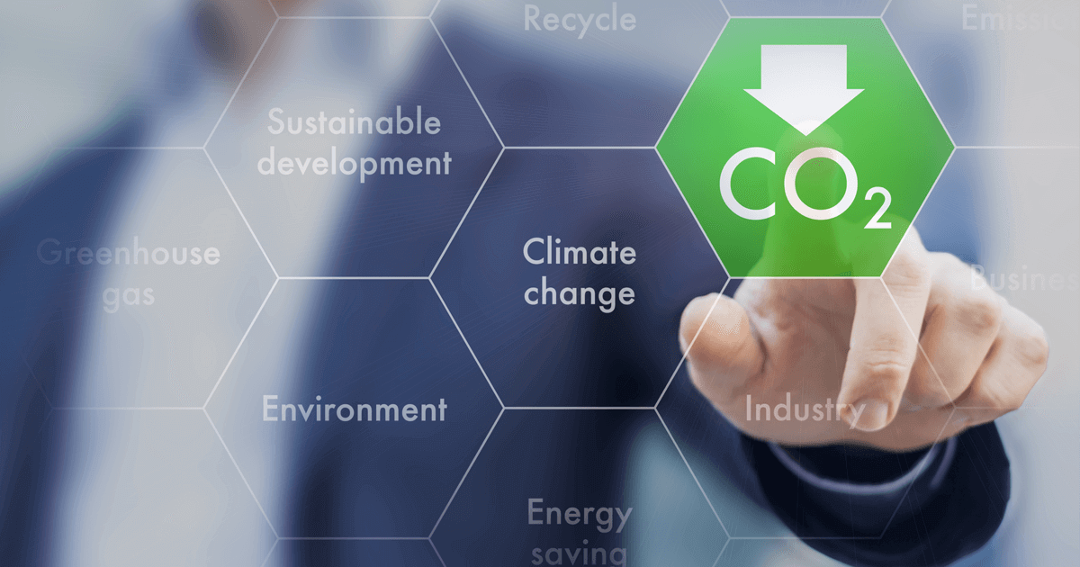 Used car parts - reduce greenhouse gas emission for climate change and sustainable development