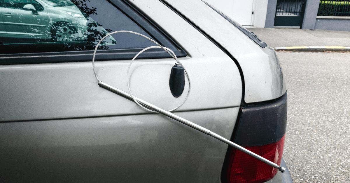 Car aerial - broken car antenna