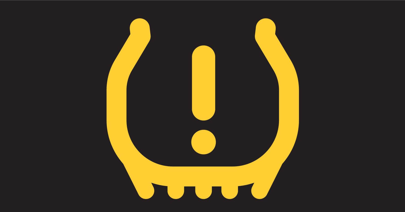 Car Dashboard Symbols and Meanings - Tire Pressure Warning Light