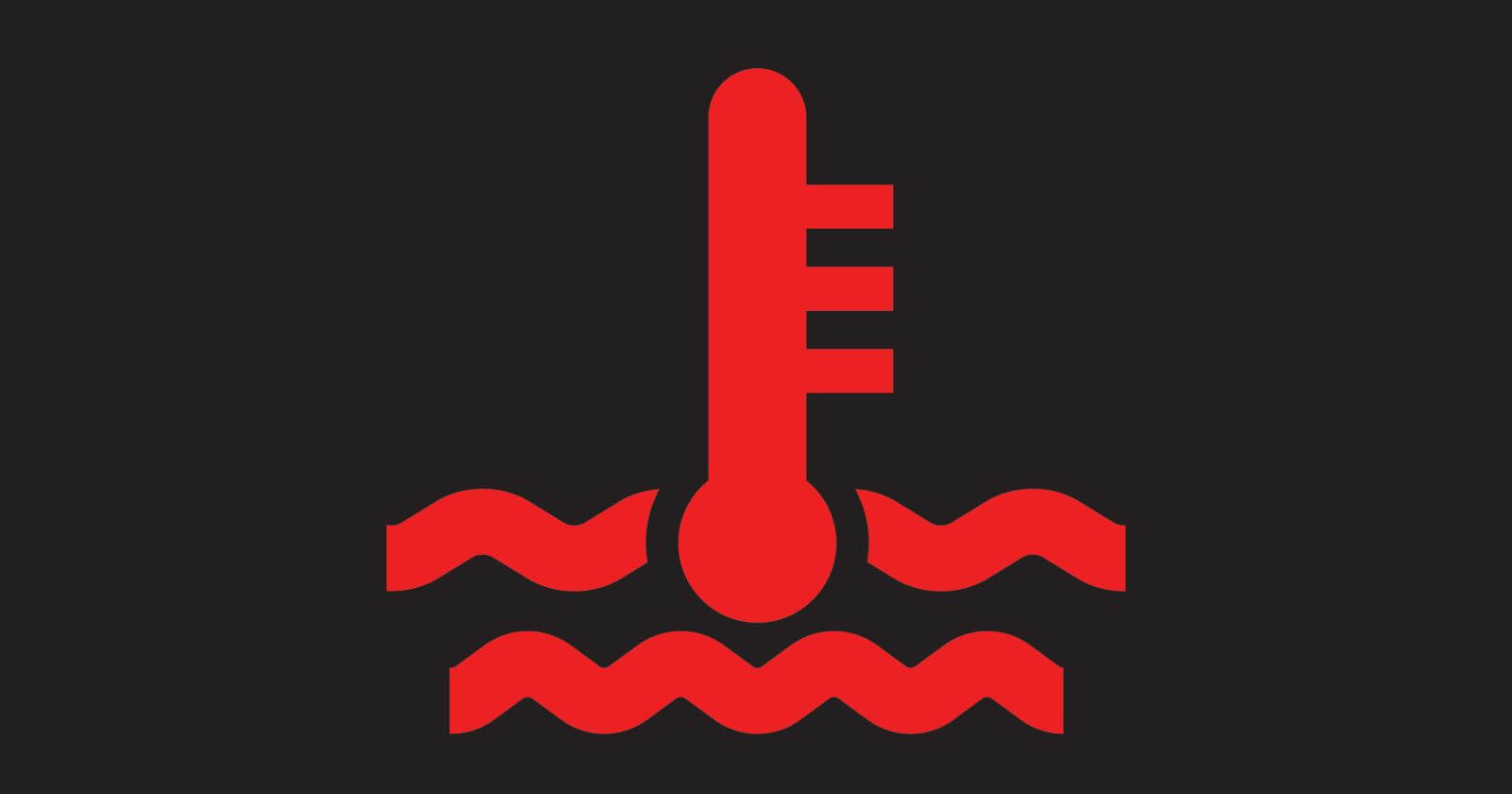 Car Dashboard Symbols and Meanings - Coolant Warning Light