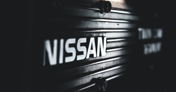 Nissan parts - engine cover
